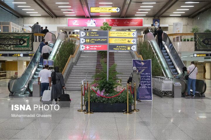 تعطیلی دو ساعته فرودگاههای تهران در این روز