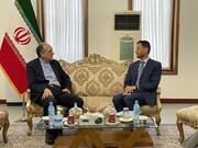 دیدار سفیر ایران در کابل با نماینده ویژه اروپا در امور افغانستان