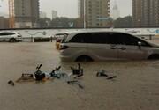 """لحظه هولناک وقوع سیلاب در ایستگاه """"مکزیک"""" / فیلم"""