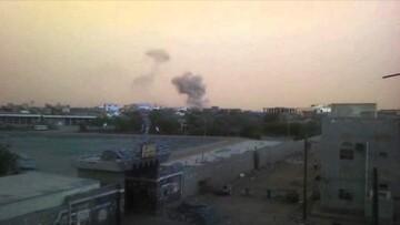 بمباران مناطقی در یمن از سوی جنگندههای ائتلاف سعودی