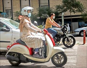 اظهارنظر دوپهلوی پلیس درباره موتورسواری زنان / قانون درباره موتورسواری زنان چه میگوید؟