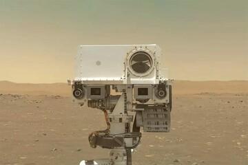 سلفی جالب دو دوست در مریخ / فیلم