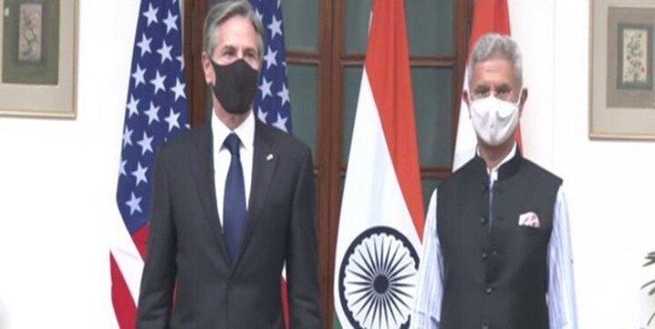 آنتونی بلینکن با وزیر امور خارجه هند دیدار کرد