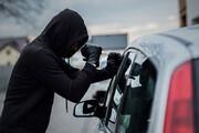 سرقت عجیب خودرو در تهران توسط سارق خونسرد / فیلم