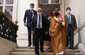 دیدار و گفتوگوی وزرای خارجه فرانسه و عربستان در پاریس