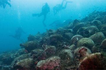 افتتاح نخستین موزه زیر آب با اشیاء ۲۵۰۰ ساله در یونان / فیلم
