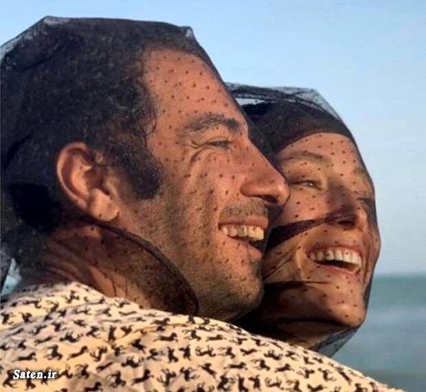مراسم جشن عقد نوید محمدزاده و همسرش فرشته حسینی / عکس