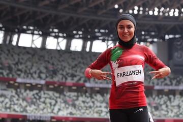 تنها زن دونده ایران در المپیک ۲۰۲۰ پنجاهم شد