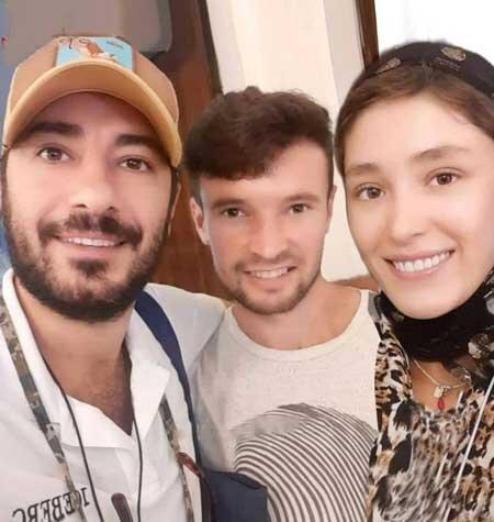 عکس جدید از نوید محمدزاده و فرشته حسینی بعد از ازدواج