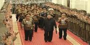 تصاویری از لاغری عجیب رهبر کره شمالی