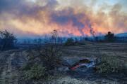 فاجعه بیخ گوش ایران / تصاویری از آتشسوزی هولناک ترکیه / فیلم