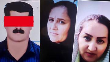 قاتل فراری دو خواهر سنندجی دستگیر شد / فیلم و عکس