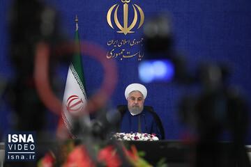 روحانی: هماهنگی نهادها در ستاد کرونا، سریع و فوری انجام شد / فیلم