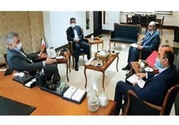 نشست مدیرعامل ذوب آهن اصفهان با رایزن بازرگانی و سرمایه گذاری سفارت پاکستان