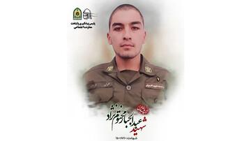 شهادت سرباز دهه هشتادی نیروی انتظامی حین بازداشت یک شرور / عکس