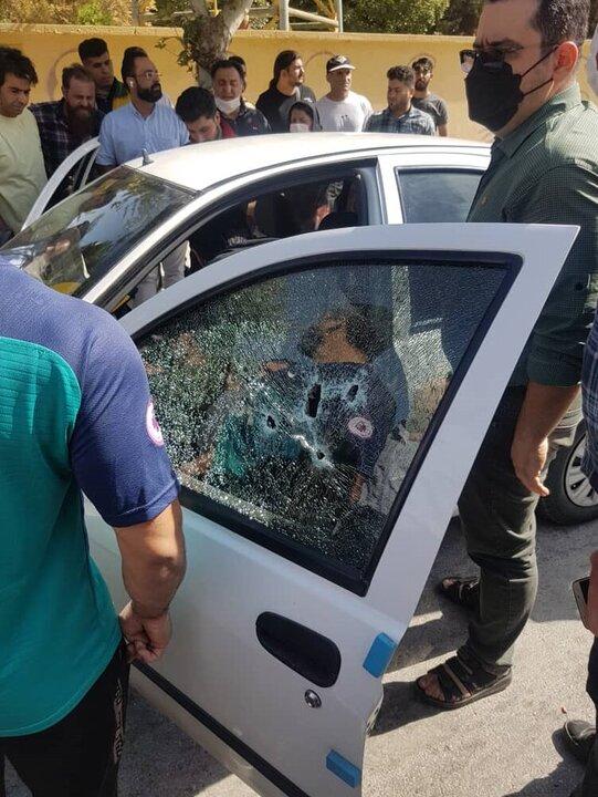 خشونت در کرمانشاه به اوج رسید / زنی در خیابان شوهرش را تیرباران کرد! + عکس