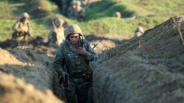 نیروهای آذربایجان مواضع ارمنیها را بمباران کردند