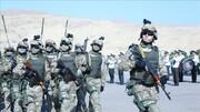پایان رزمایش مشترک ازبکستان و تاجیکستان