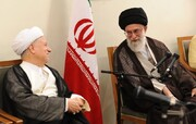 گفتگوی منتشرنشده رهبر انقلاب با آیتالله هاشمی رفسنجانی درباره مذاکره با آمریکا / فیلم