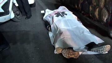 تصادف وحشتناک در تهران / راننده هیوندا عابر پیاده را کشت + عکس