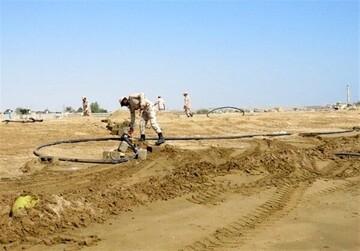 کشف خط لوله ۲۰ کیلومتری قاچاق سوخت در میناب!