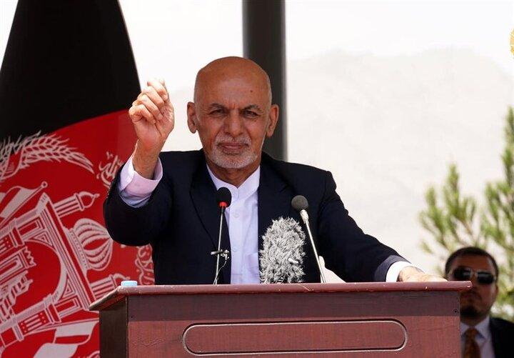 اشرف غنی: طالبان حاضر به صلح نیست