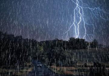 گزارش آب و هوا ۱۱ مرداد ۱۴۰۰ / وقوع رگبار و رعدوبرق در اغلب نقاط کشور
