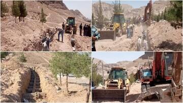 ماجرای دفن دستهجمعی قربانیان کرونا در کرمان چه بود ؟ / عکس جنجالی