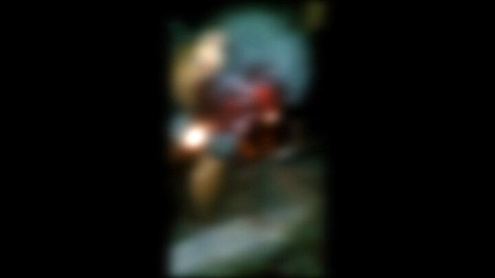 تصاویری تکاندهنده از پرتاب شدن مرد یاسوجی بر روی میلگرد های تیز / فیلم