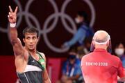 محمدرضا گرایی راهی فینال المپیک شد