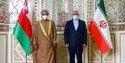 دیدار ظریف با وزیر خارجه عمان در تهران