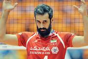 سعید معروف از تیم ملی والیبال خداحافظی کرد / عکس