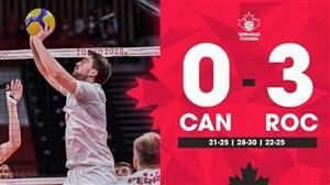 روسیه به مرحله نیمهنهایی والیبال المپیک صعود کرد
