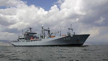 اعزام یک ناو آلمانی به دریای چین جنوبی