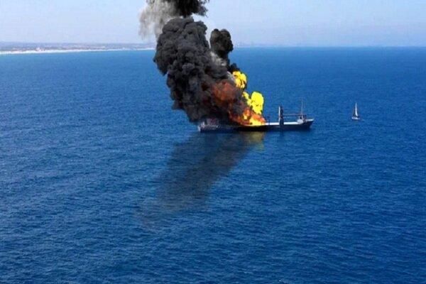 حادثه برای یک کشتی در سواحل امارات