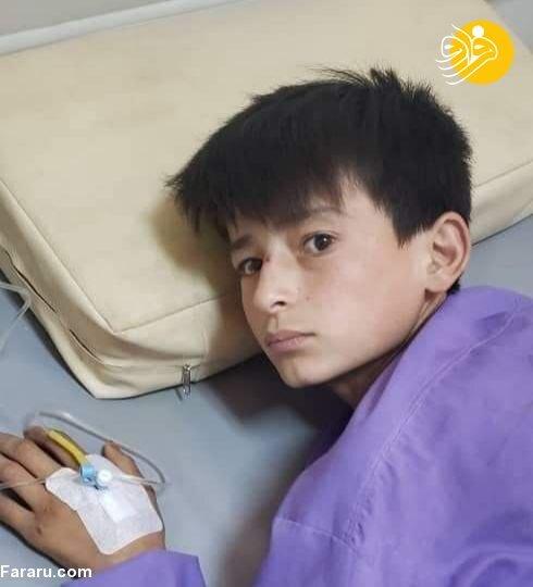 تصاویری دردناک از شلاق یک کودک توسط طالبان