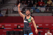 رضا اطری از صعود به فینال بازماند / مبارزه برای کسب مدال برنز