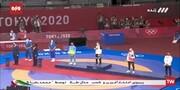 لحظه اهدای مدال طلا به محمدرضا گرایی / فیلم