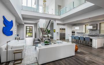 بررسی نحوه معماری داخلی خانه های ویلایی