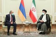 دیدار رییسجمهور با نخستوزیر ارمنستان