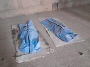 ۲ کارگر در تهران از طبقه شانزدهم یک برج سقوط کردند/ تصاویر