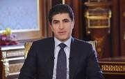 نیچروان بارزانی وارد تهران شد