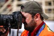 اشکهای دردناک عکاس ایرانی بعد از شکست حسن یزدانی / عکس