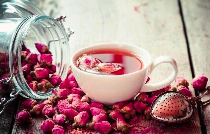 مصرف چای گلاب