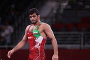 پیام حسن یزدانی پس از شکست در فینال المپیک در اینستاگرام / عکس
