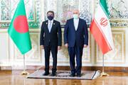 دیدار وزیر امور خارجه بنگلادش با ظریف / تصاویر