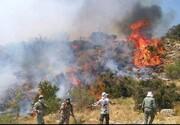 آتش دوباره در جنگلهای ارسباران زبانه کشید /  بالگردهای وزارت دفاع کارایی نداشتند