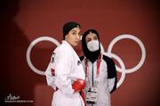 حمیده عباسعلی از المپیک حذف شد