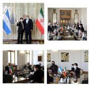 دیدار ظریف با وزیر امور خارجه نیکاراگوا