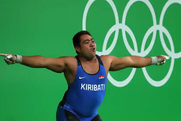 خوشحالی جالب توجه و عجیب وزنهبردار پس از شکست در المپیک ۲۰۲۰ توکیو / فیلم
